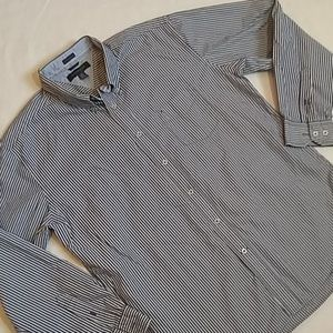Tommy Hilfiger 2 Ply Cotton L/S Button Up Shirt